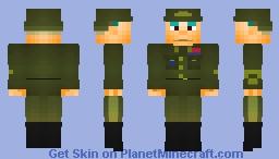 General Patton Minecraft Skin