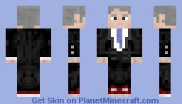 George .W Minecraft Skin