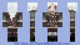 Geralt from Rivia (The Witcher) [Timelapse] Minecraft Skin