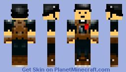 WWII German Minecraft Skin