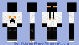 Enderman dj Minecraft Skin