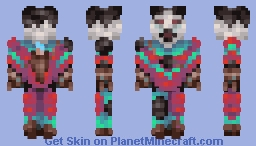 Ghaystan The Ghast Hunter Minecraft Skin