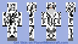 snow ghillie suit Minecraft Skin