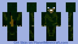 Ghillie suit (with sniper on back) Minecraft Skin