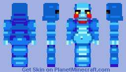 Booblier Blue Minecraft Skin