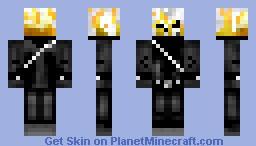 Ghost Rider (3D flames) Minecraft Skin