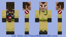 Ghostbusters Peter Venkman Minecraft