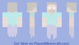 Ghost Steve Minecraft Skin