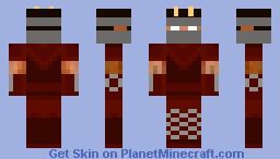 gidgid my brothers aqw character Minecraft Skin