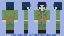 Major Gilbert Bougainvillea I [4px] Minecraft Skin