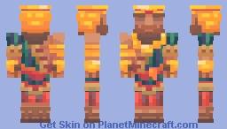 💪🏽 Gilgamesh, Distributor of Epics 💪🏽 Minecraft Skin