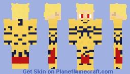 Fate/Zero - Gilgamesh (Archer) Minecraft Skin
