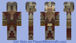 Gimli (The Lord of the Rings) Minecraft Skin