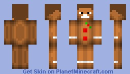 Gingerbread Steve-Bastiao09 Minecraft Skin