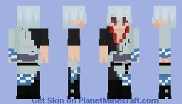 gintoki sakata reshade Minecraft Skin