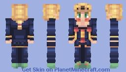 Giorno Giovanna - JoJo's Bizarre Adventure Minecraft Skin