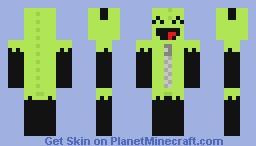 Gir (Invader Zim) Minecraft Skin