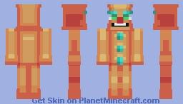Galletóncio- Gigerbread Man Minecraft Skin