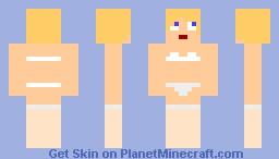 Girl in Nylon Stockings Minecraft Skin