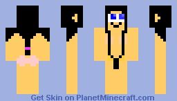 beach girl Minecraft Skin