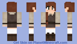 Young Country Girl Minecraft Skin