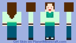 Girl Steve Alt. Minecraft Skin