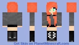 Girly (DeRpY FAIL) -Tana- Minecraft Skin
