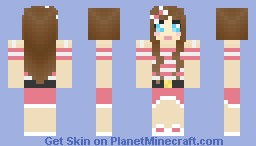 Cute Girl (Girly Girl) Minecraft Skin