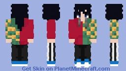 Giyu Tomioka (2°version) Minecraft Skin
