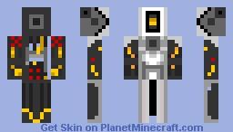 GLaDOS Skin Minecraft