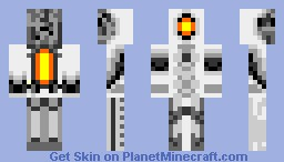 GlaDos © Minecraft Skin