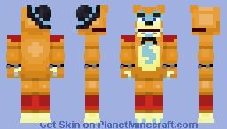Glamrock Freddy (FNaF Security Breach) Minecraft Skin