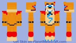 Leaked Glamrock Freddy (Old) Minecraft Skin