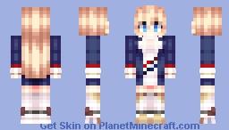 Azure lane HMS Glorious Minecraft Skin