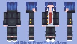 I hate school Minecraft Skin