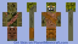 Goblin! Monster in the closet! Minecraft Skin