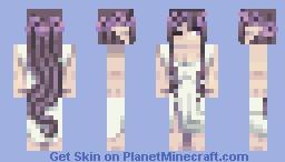 Goddess of Lavender Minecraft Skin