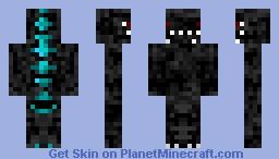 Godzilla Series: Godzilla (Heisei, Black) Minecraft Skin