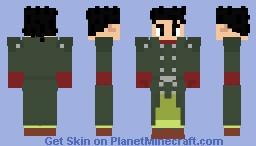 Dragon Ball Heroes - Gohan Xeno (SSJ forms in describtion) Minecraft Skin