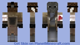 Stitch2Goker (Ghost version of my skin) Minecraft Skin