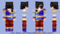 Goku - Yardrat Outfit Minecraft Skin
