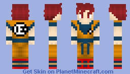 DBS Broly - Son Goku (SSG) Minecraft Skin