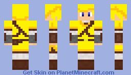 gold link Minecraft Skin