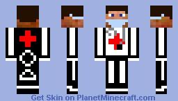 Atlantis Server Doctor Minecraft Skin