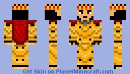 Golden knight Minecraft Skin