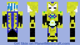 Golden pharoah Minecraft Skin