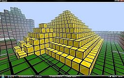 Golden Pyramid Minecraft Map & Project