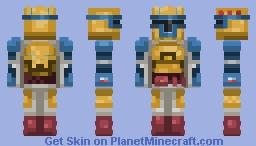 Gold Mandalorian! Minecraft Skin