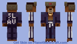 Gopnik Bear Minecraft Skin