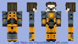 Dr. Gordon Freeman ~ Half-Life 2 Minecraft Skin
